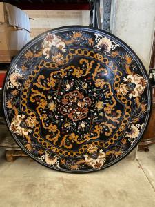 Marmortisch 183 Durchmesser