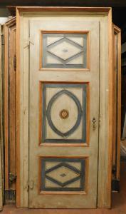 ptl529 - дверь с коробкой, Центральная Италия, 18 век, изм. см l 110 x в 235
