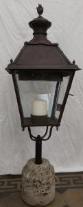 Железная лампа 20-х и 30-х годов