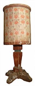 Antico pulpito dipinto