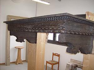 Camini antichi del 500 camini antichi antiquariato su for Camini antichi legno