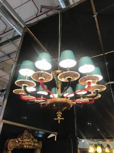Murano赌场吊灯150x80h