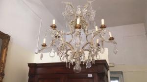 古色古香的皮埃蒙特水晶枝形吊灯