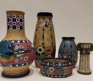 Amphora vasi in ceramica primi 900
