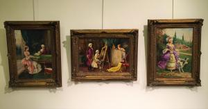 Три картины Альдо Афффортати (1906-1991)