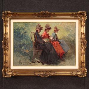Итальянская живопись в стиле прекрасной эпохи