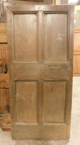 ptir426 - дверь в деревенском стиле из ореха, 19 век, размеры в см l 86 xh 185