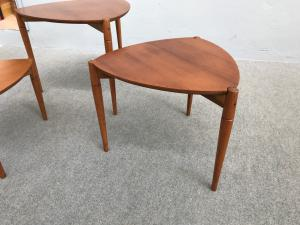 Set of 3 coffee tables by Reguitti
