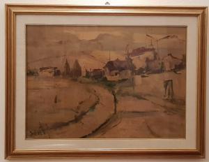 Alvaro Danti (1911-1985) - Óleo sobre tela