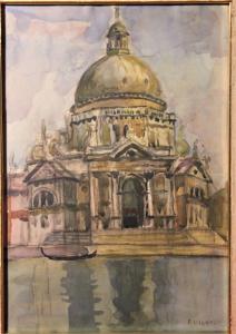 Farpi Vignoli (Bologna, 21 agosto 1907 – novembre 1997)  Venezia - Basilica di Santa Maria della Salute