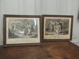 Pair of 19th century molds