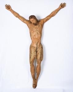 Polychrome wooden Christ, Tuscany, 13th century