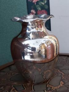 900 vaso de prata vintage
