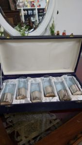 Collection of Glasses 70 years Arg.800