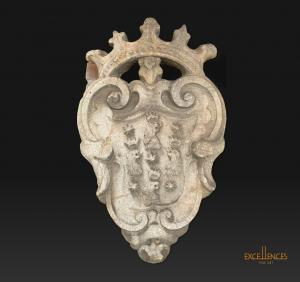Antico stemma in pietra epoca '500