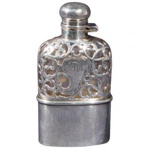 Fiaschetta argento da whisky