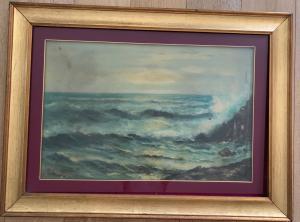 风雨如磐的海