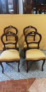 4 sedie Luigi filippo