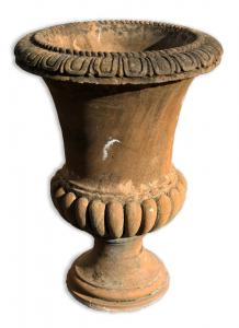 Ancient stone vase. Epoch 1800