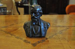 Scultura bronzo Giuseppe Verdi