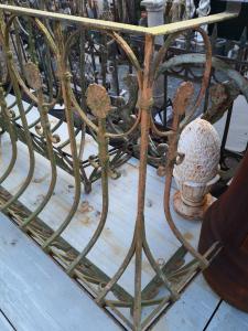 balconi in ferro battuto