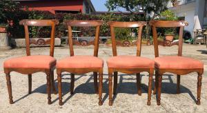 quattro sedie Carlo X