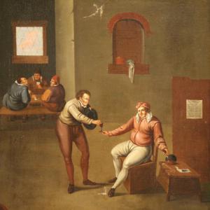 Signierte Flämische Gemälde aus dem 17. Jahrhundert