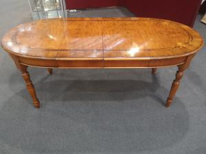 Выдвижной овальный стол