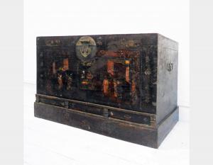 Peking-Kiste in der antiken Peking-Ulmenholz Kunst 3352A