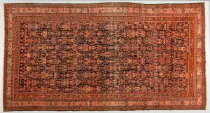 "Antique Persian MALAYER carpet with rare ""zellol-soltan"" design (727 cp)"