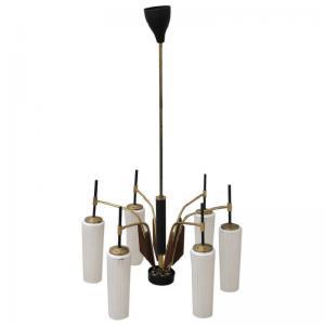 Lampadario design italiano Stilnovo, 1960 circa PREZZO TRATTABILE
