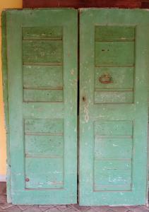 передняя дверь