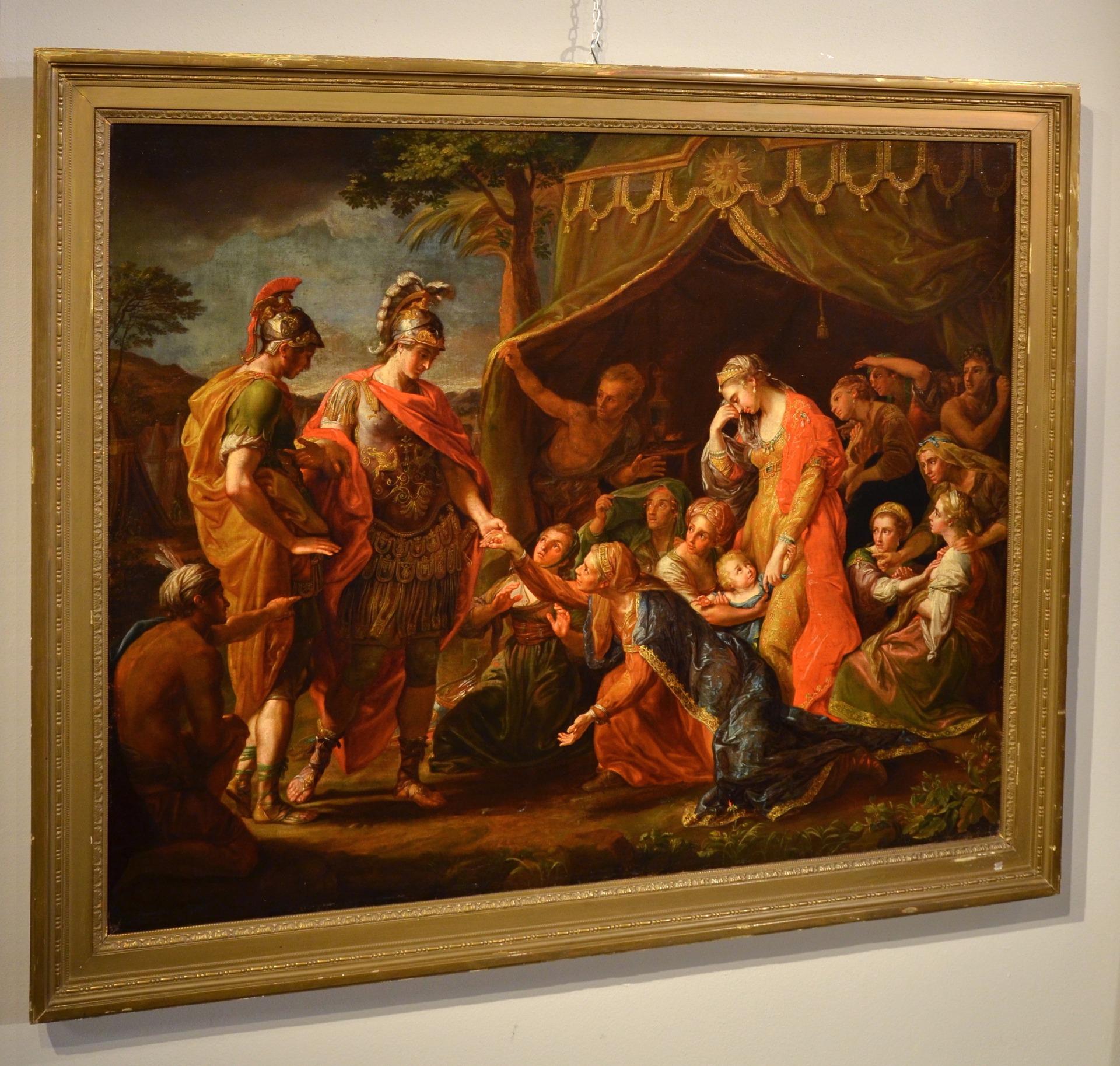 thumb2|Alessandro Magno visita la famiglia di Dario, Pompeo Girolamo Batoni (Lucca 1708 – Roma 1787) e bottega (VENDUTO)