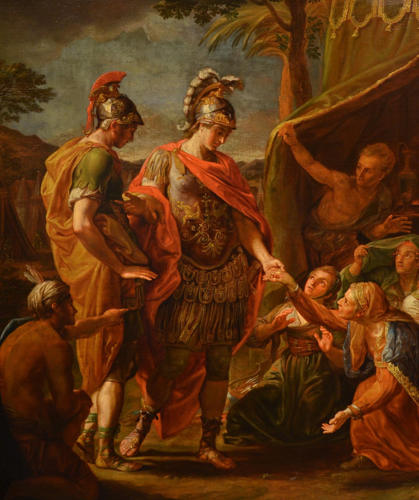 thumb4|Alessandro Magno visita la famiglia di Dario, Pompeo Girolamo Batoni (Lucca 1708 – Roma 1787) e bottega (VENDUTO)