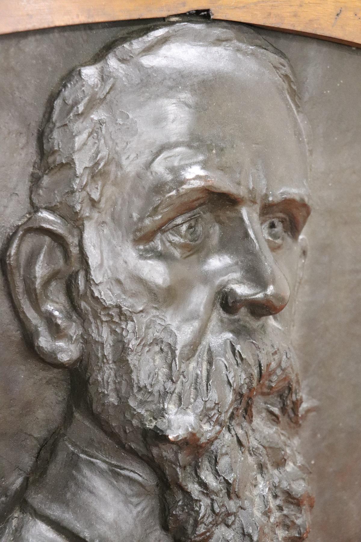 thumb4 Scultura in bronzo ritratto di gentiluomo inizi Sec. XX PREZZO TRATTABILE