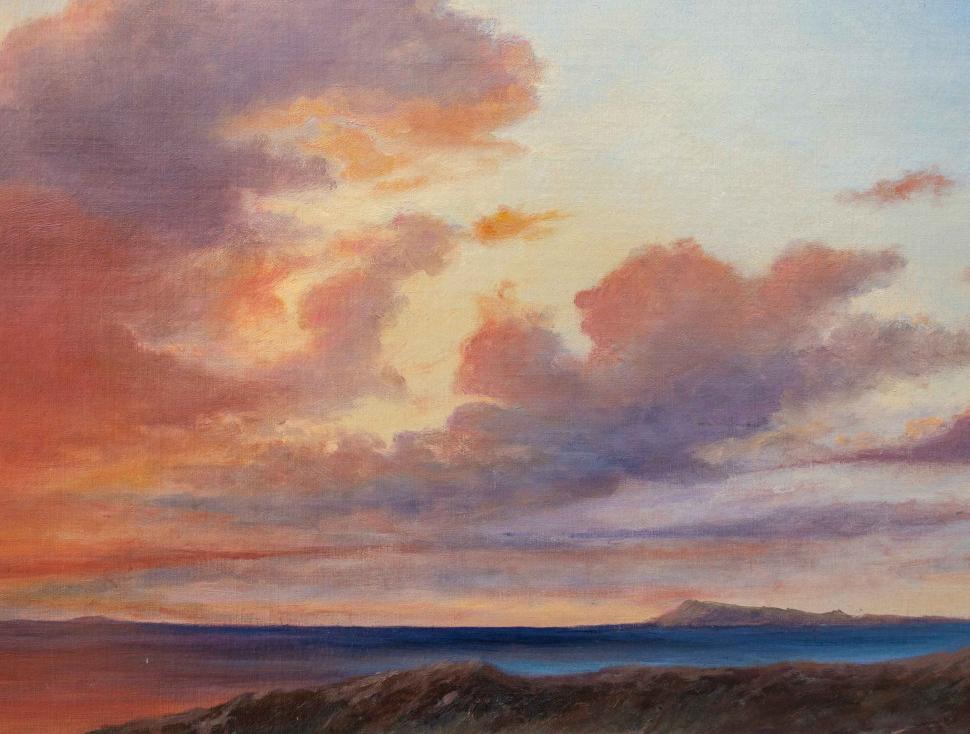 thumb4 Paesaggio al tramonto, XIX secolo