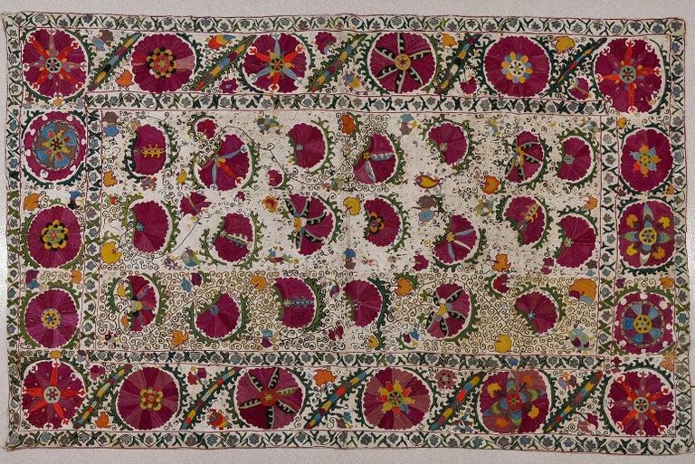 Antico raro SUSANI Turkomanno (da collezione privata)