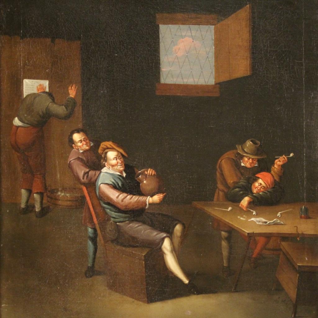 Quadro fiammingo del XVII secolo