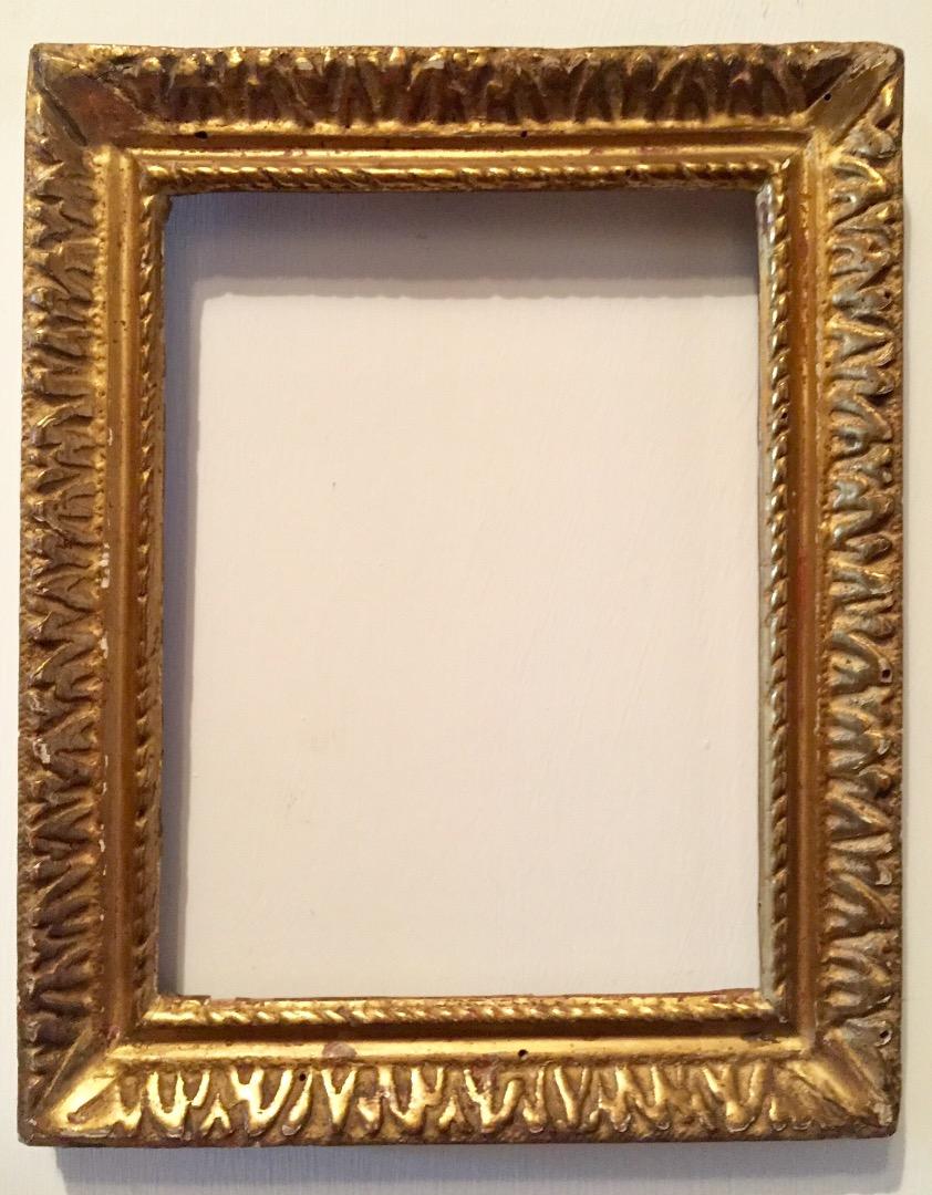Goldener Rahmen des 18. Jahrhunderts | Antiquitäten auf Anticoantico