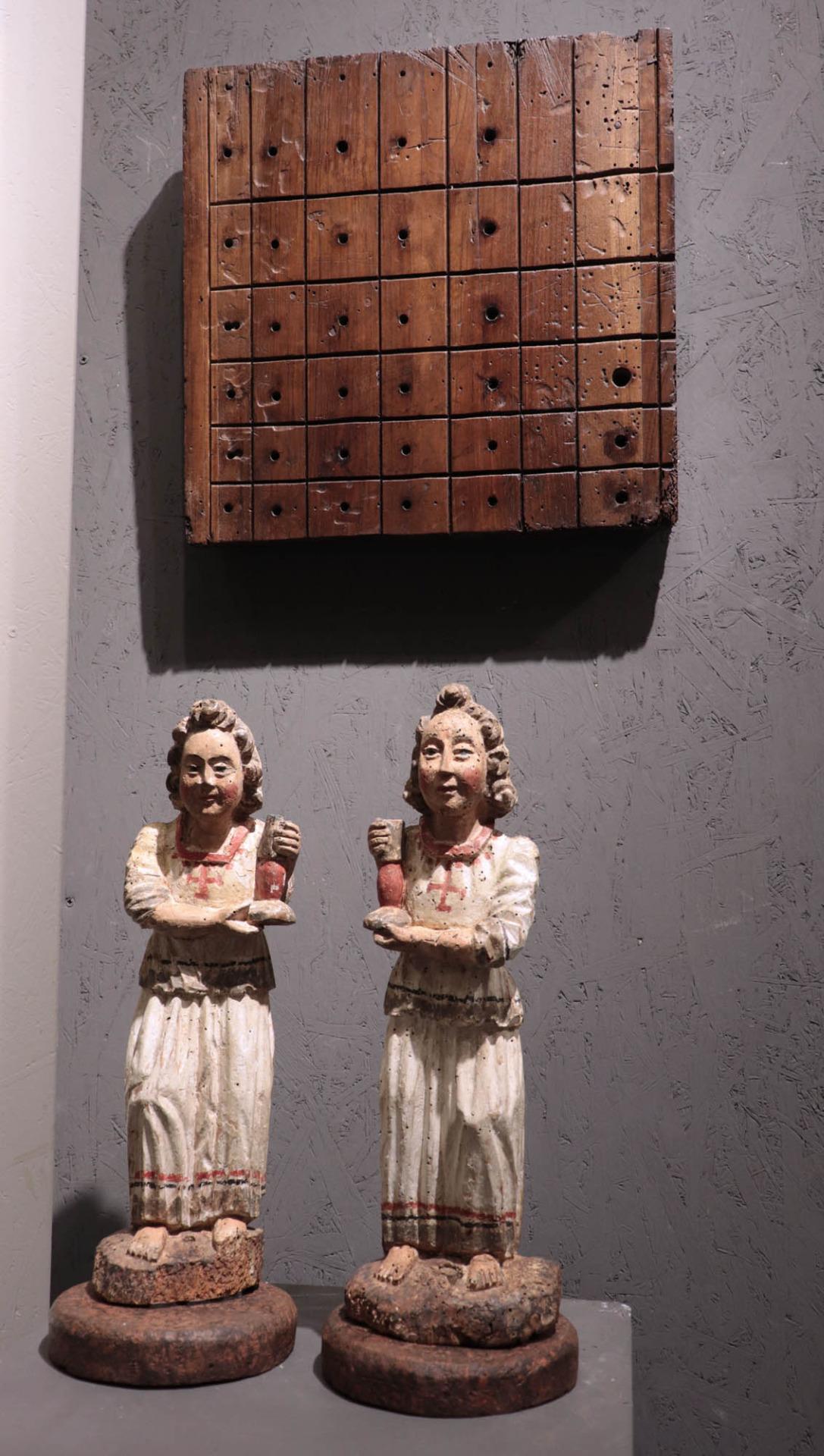 thumb5 Pannello parte di organo. Toscana, Sec. XVI