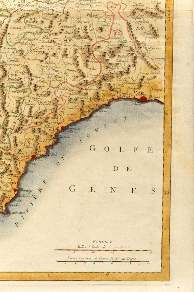 thumb2 Carta geografica di Monaco del 1780 - rif. ST/609