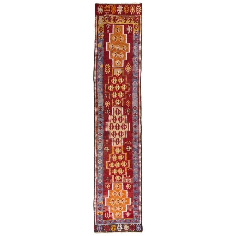 thumb7 Galleria-passatoia turca ADANA di antica manifattura (n.837)