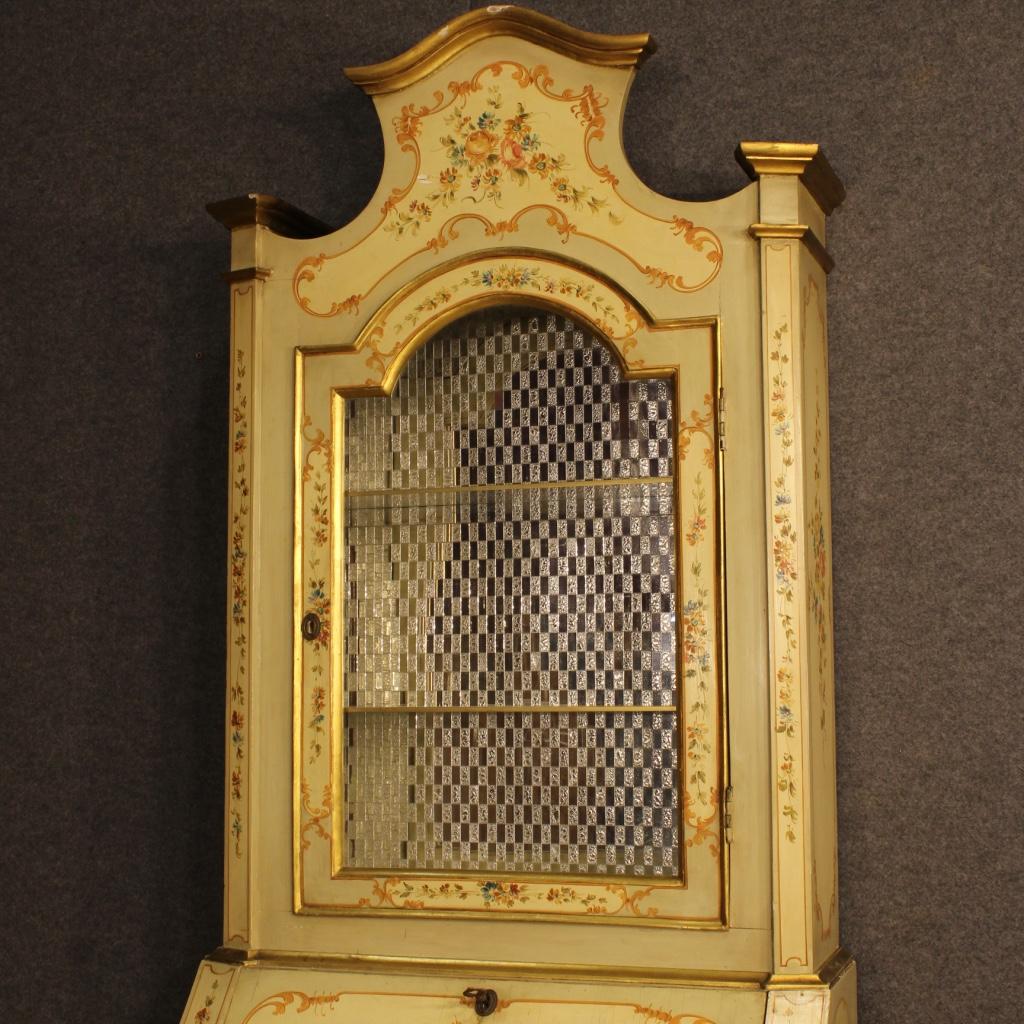 thumb2|Trumeau veneziano laccato, dorato e dipinto