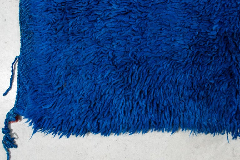 thumb3|Tappeto Marocco a fondo blu (n.1179)