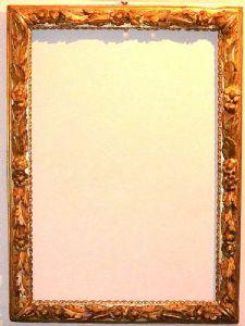 金箔皮埃蒙特18世纪的框架