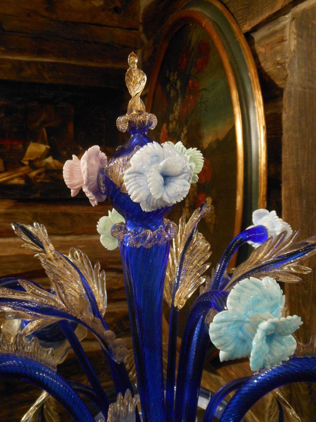 Raro flambeau eccezionale lampadario da tavolo in for Lampadario da tavolo