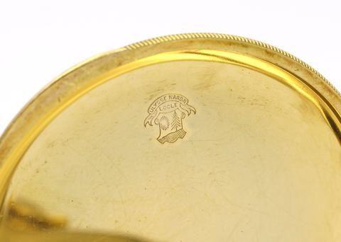 thumb4|Orologio da tasca Ulysse Nardin in oro 18k 1940 circa