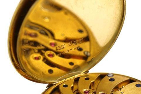 thumb7|Orologio da tasca Ulysse Nardin in oro 18k 1940 circa