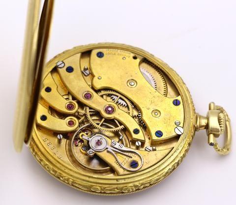 thumb8|Orologio da tasca Ulysse Nardin in oro 18k 1940 circa