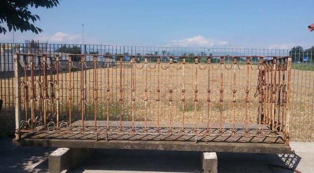 Terrazzo con parapetto antiquariato su anticoantico - Parapetto terrazzo ...